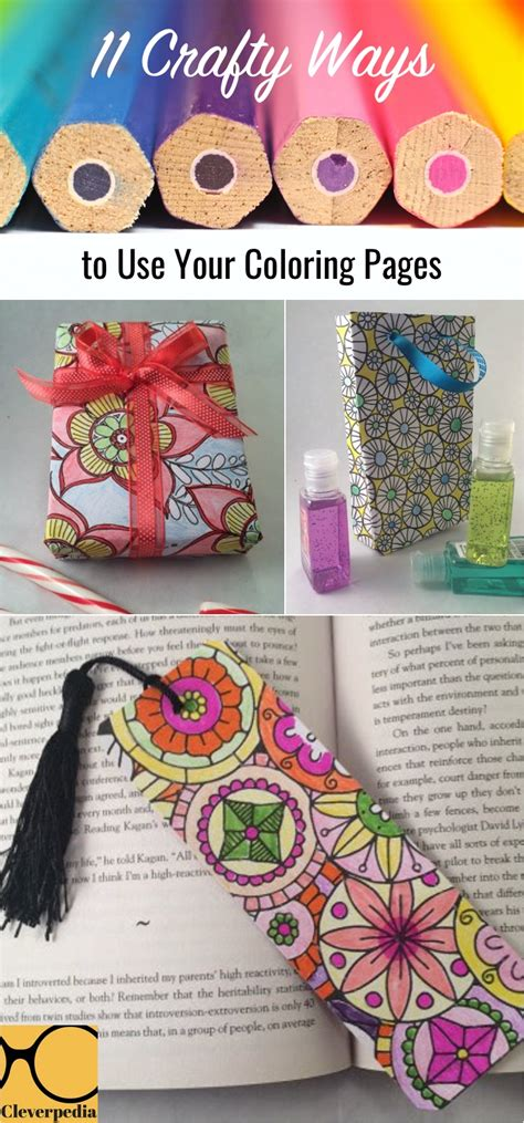 11 Crafty Ways to Use Your Coloring Pages Cleverpedia