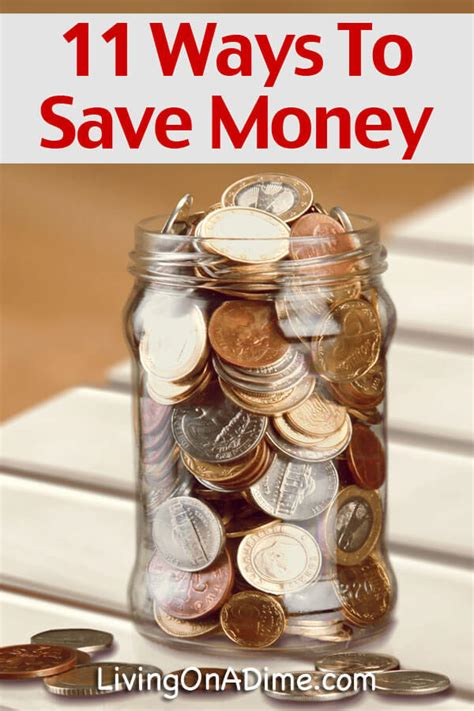 11 Frugal Living Tips Living on a Dime
