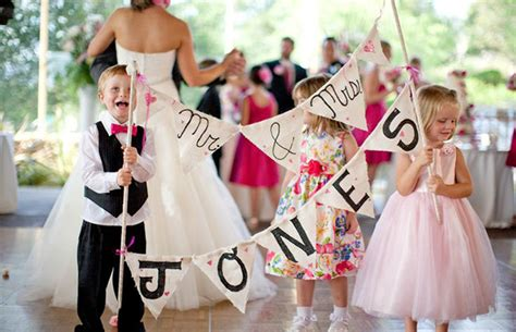 11 Ways to Keep Kids Entertained at Weddings OneFabDay