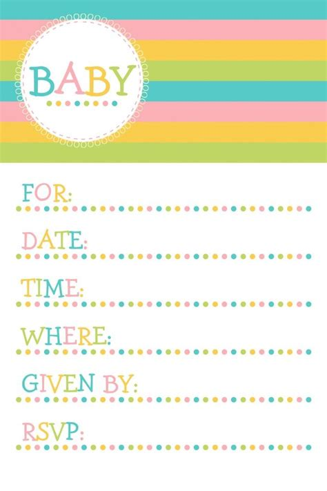 11 best Free Printable Baby Shower Invitations images on