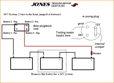 24 volt battery wiring diagram images 12 12 24 36 volt trolling motor wiring diagrams