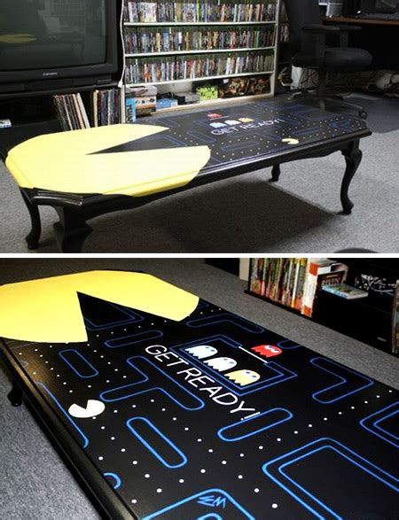 12 Coolest Tables cool table human table pacman table