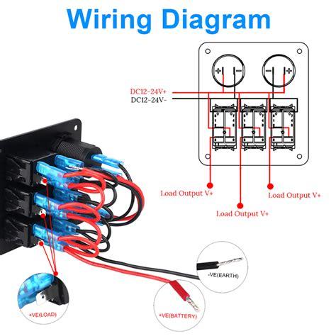 volt switch panel wiring diagram images jt t products f  12 volt switch panel wiring diagram car repair manuals