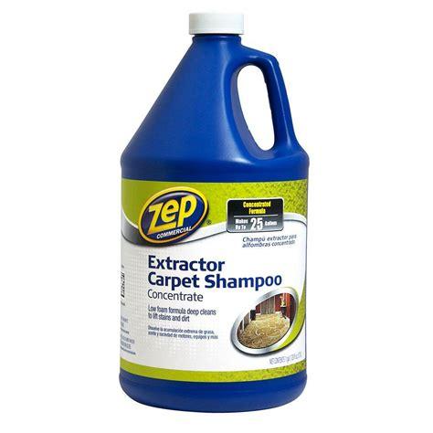 128 oz Carpet Extractor Shampoo The Home Depot