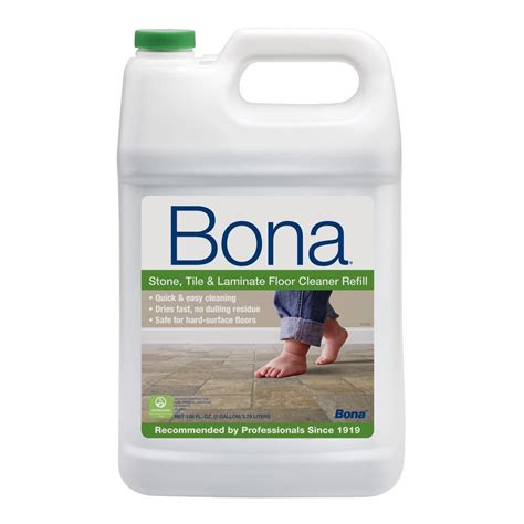 128 oz Stone Tile and Laminate Cleaner The Home Depot