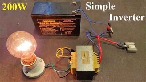 12V to 220V Inverter based MOSFET IRFZ44 Inverter