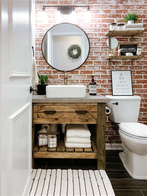 14 Ideas for a DIY Bathroom Vanity