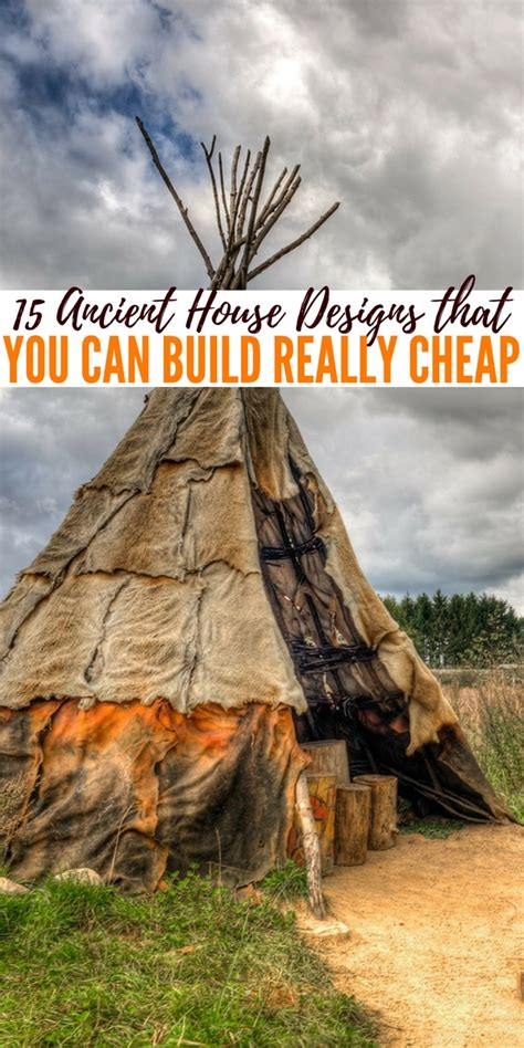 15 Ancient House Designs That You Can Build Really Cheap