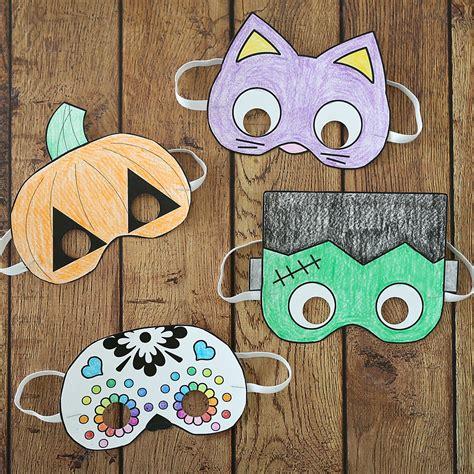 15 DIY Halloween Mask Crafts How to Make Halloween Masks