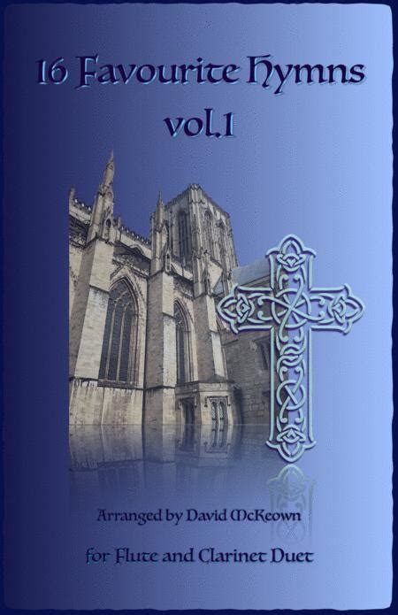 16 Favourite Hymns Vol 1 For Flute And Clarinet Duet  music sheet