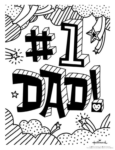 169 Free Printable Father s Day Coloring Pages The Balance