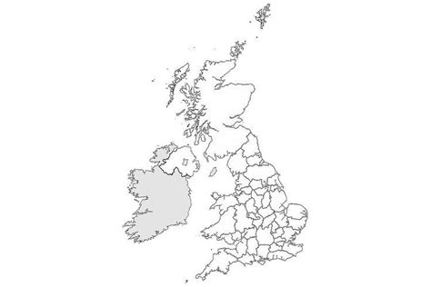 17 Blank Maps of the U S and Other Countries ThoughtCo
