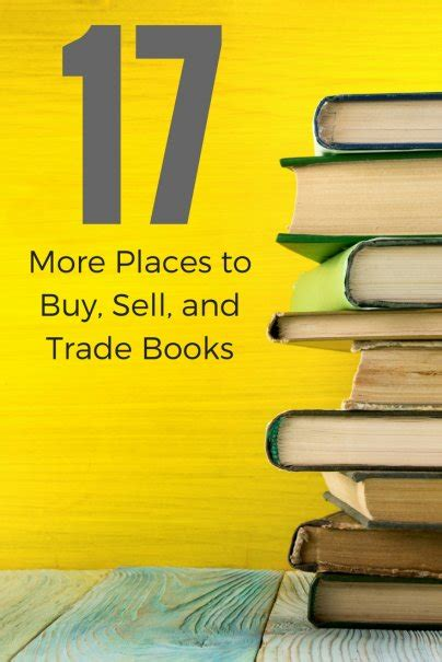 17 More Places to Buy Sell and Trade Books Wise Bread