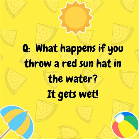 18 REALLY Funny Summer Jokes for Kids A Mom with a