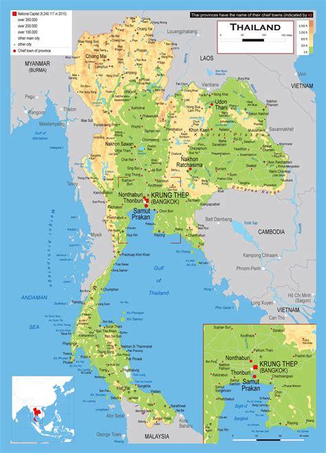 180 Free Thailand Maps