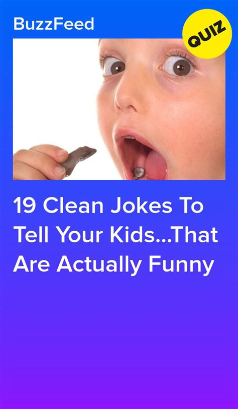 19 Clean Jokes To Tell Your Kids That Are Actually Funny