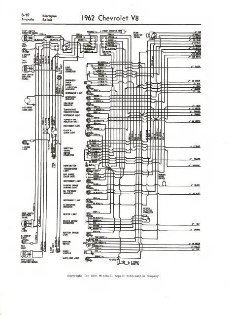 free download ebooks 1962 Chevrolet Impala Wiring Diagram