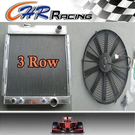 1964 1965 1966 Ford Mustang Aluminum Radiator With