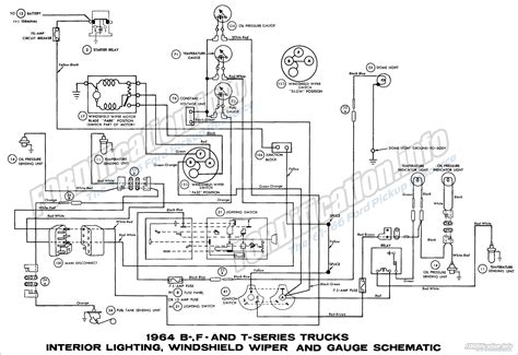 1964 ford f100 alternator wiring diagram images 1961 1964 ford f100 wiring diagrams minionitis