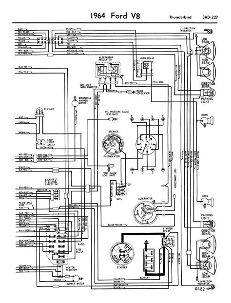 1964 ford f100 alternator wiring diagram images 1961 1964 ford thunderbird wiring diagram for alternator 1964