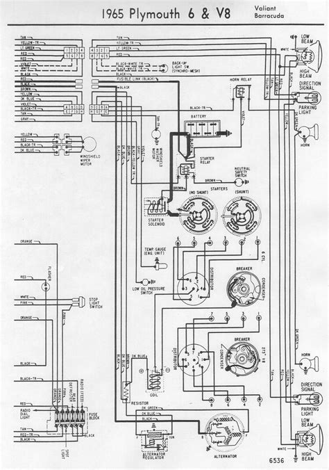 free download ebooks 1965 Plymouth Barracuda Wiring Diagram Schematic