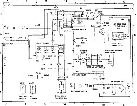 ignition wiring diagram ford images 1970 ford maverick wiring vacuum diagrams