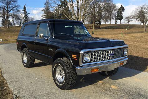 1971 CHEVROLET CUSTOM K5 BLAZER 4X4 205901
