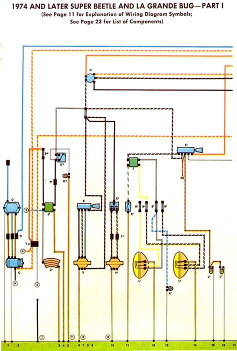 1974 vw beetle turn signal wiring diagram images 71 beetle wiring vw beetle turn signal wiring diagram 1974 75 super beetle wiring diagram thegoldenbug