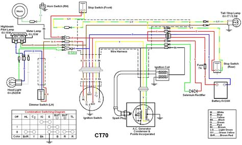 1981 ct70 wiring diagram images parts 1981 ct70 a wire harness 1981 ct70 wiring diagram image engine schematic