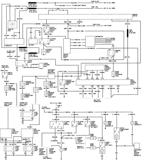 1986 bronco ii fuel wiring diagram images ford bronco and f 1986 ford bronco ii wiring diagram car repair manuals