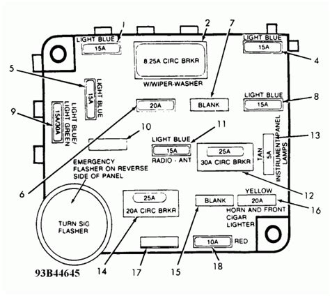 free download ebooks 1988 Ford Ranger Fuse Diagram