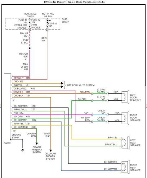 free download ebooks 1991 Dodge Dynasty Wiring Diagram Schematic