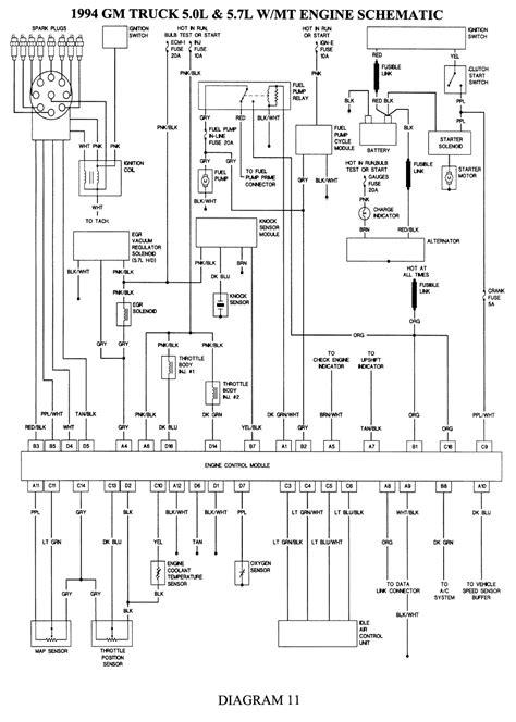 1994 chevy silverado wiring diagrams images typical gm wiring 1994 chevy silverado wiring diagram engine