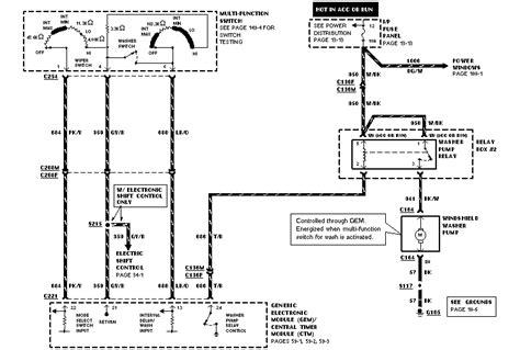 1996 ford ranger wiper motor wiring diagram images d150 1996 ford ranger wiper motor wiring diagram repalcement