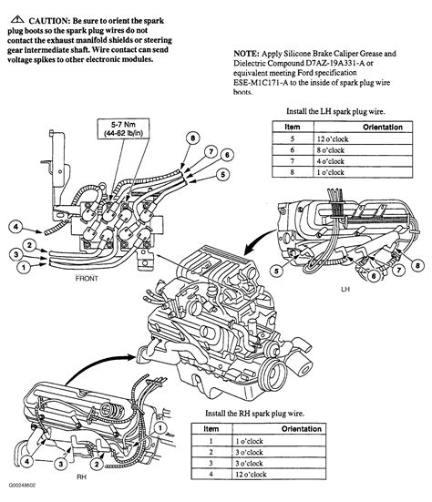 spark plug wiring diagram for 1998 ford f150 4 6 liter engine 1999 ford mustang spark plug wire diagram images on spark plug wiring diagram for 1998 ford