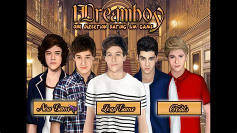 1Dreamboy One Direction Dating Sim Game