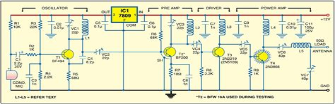 1W Long Range FM Transmitter Electronics DIY