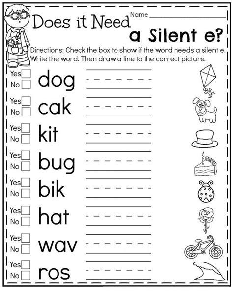 1st Grade Worksheets Free Online Worksheets for First