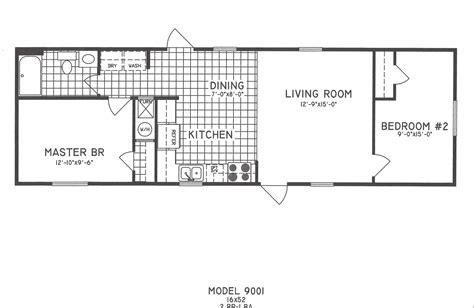 2 Bedroom Floorplans Modular and Manufactured Homes in AR