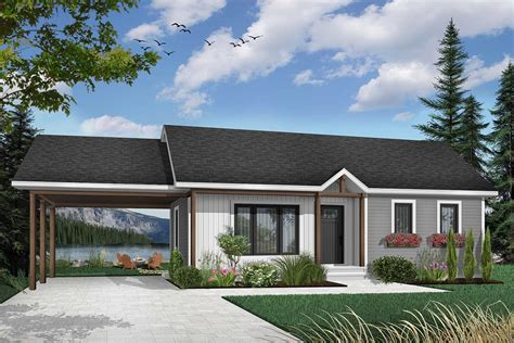 2 Bedroom Ranch Style House Plans