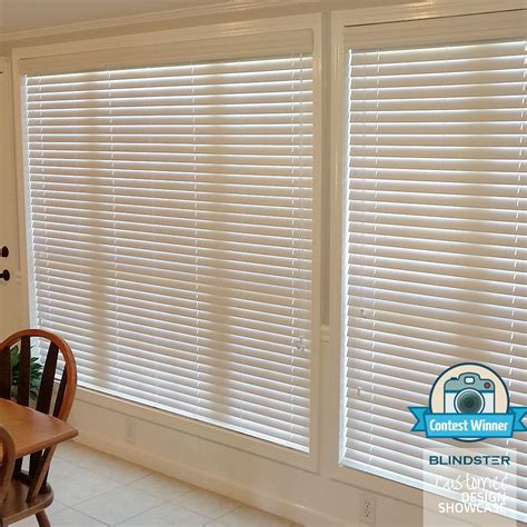2 Deluxe Faux Wood Blinds Blindster