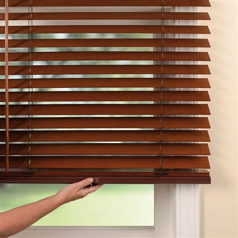 2 Premier Wood Blinds from SelectBlinds
