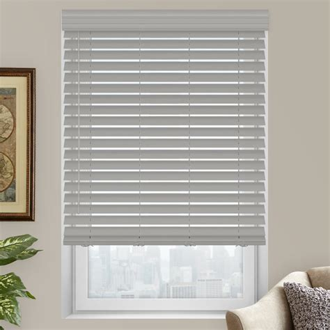 2 Premium Faux Wood Blinds from SelectBlinds