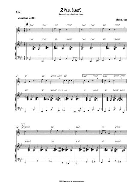 2 Feel Arranged For Clarinet And Band  music sheet