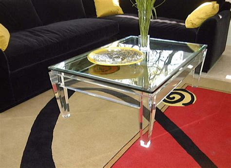 20 Chic Acrylic Coffee Tables Decoist