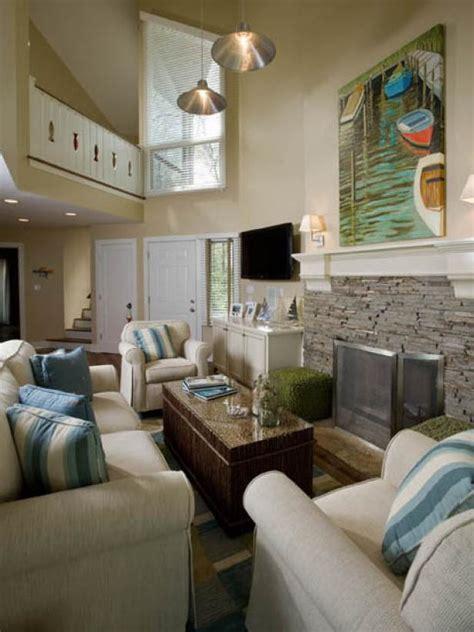 20 Cool Coastal Inspired Living Rooms HGTV