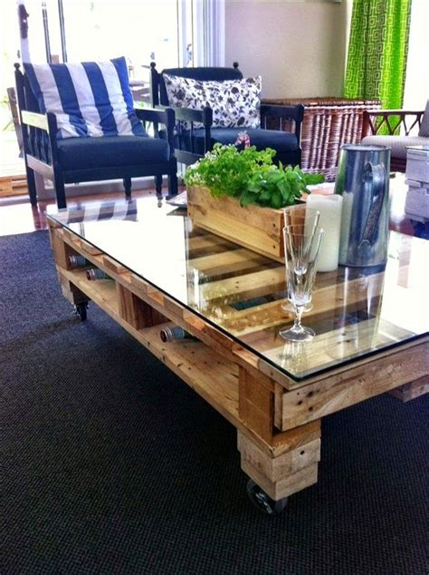 20 DIY Pallet Coffee Table Ideas