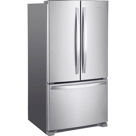 20 cu ft French Door Refrigerator in Stainless Steel