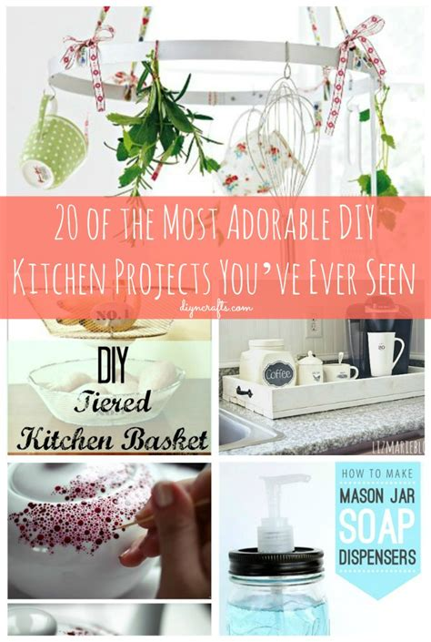 20 of the Most Adorable DIY Kitchen Projects You ve Ever
