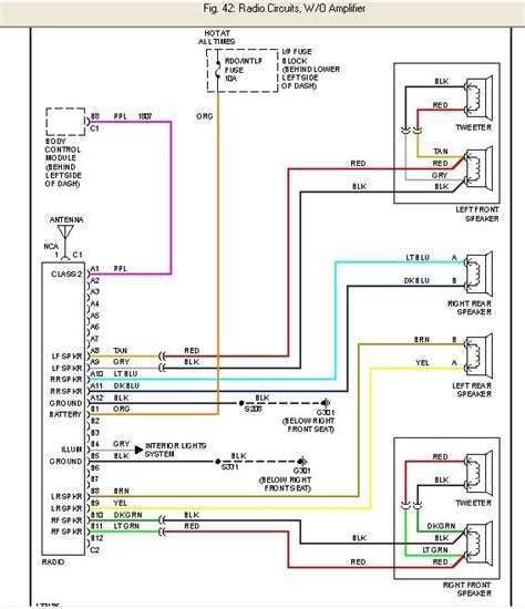 stereo wiring diagram chevy cavalier images 97 chevy radio wiring 2000 chevrolet cavalier car radio stereo wiring diagram